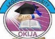 Legacy University, Okija, Cut off Mark 2021