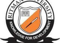 Ritman University Cut off Mark 2021