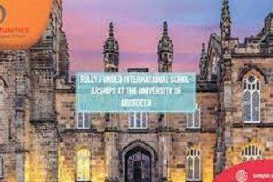 University Of Aberdeen Global Scholarships, UK 2021-22